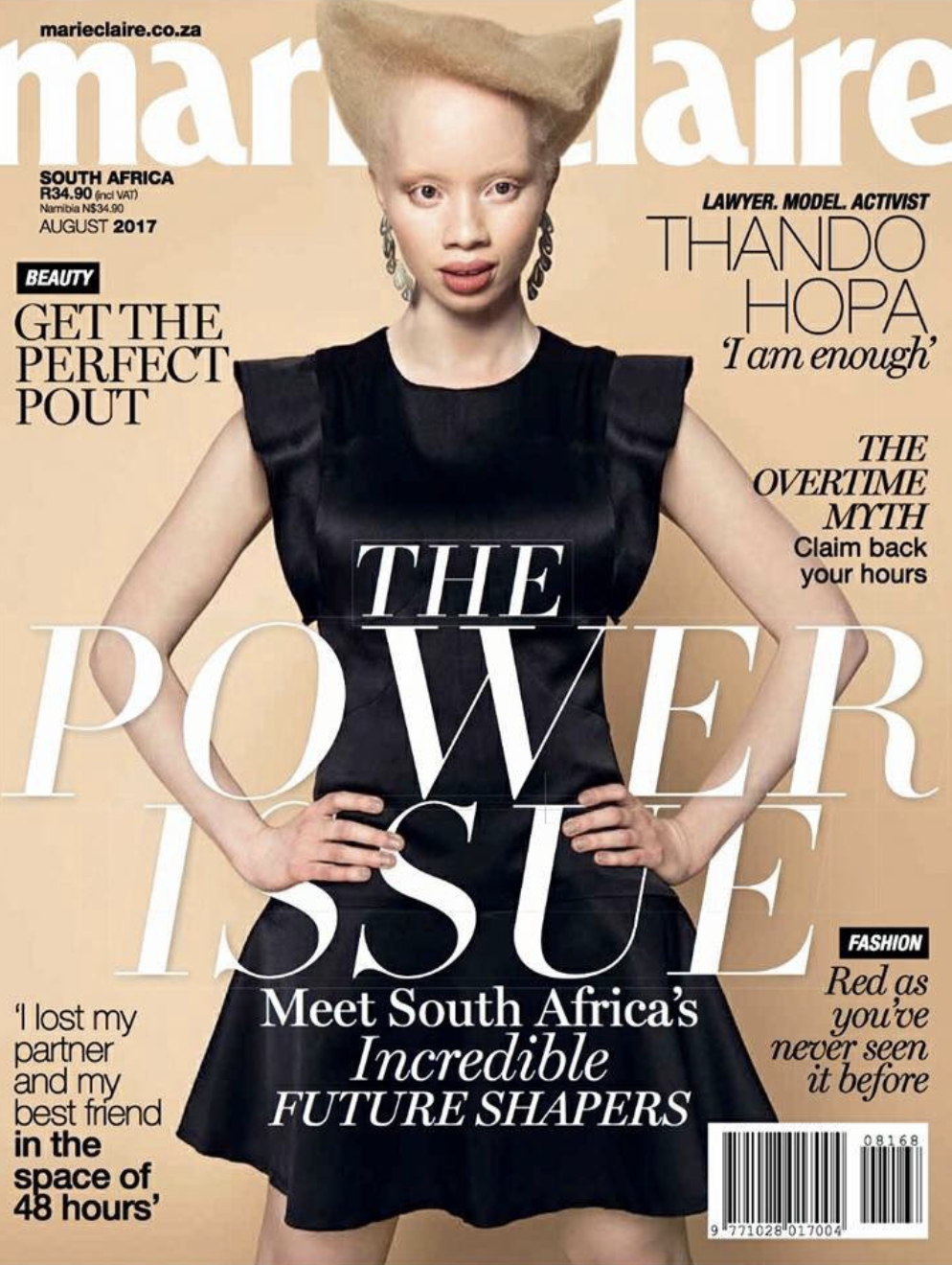 2017 Marie Claire Power Issue Cover