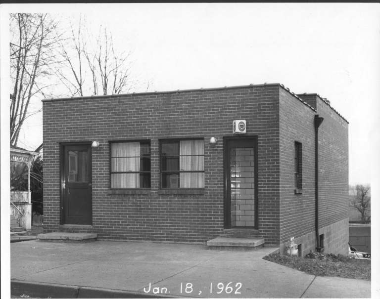 This is the current building, built in 1956, before any additions were made.