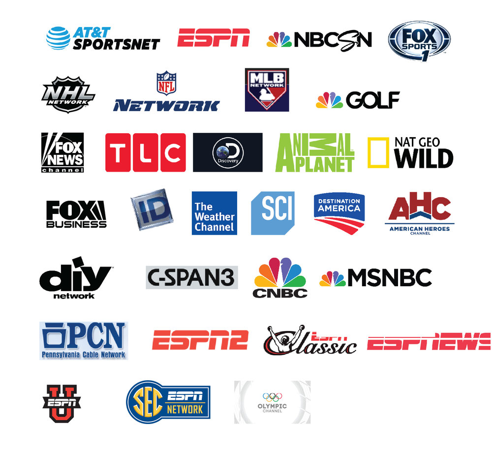 News & Sports Group - 30 Channels | 28 HD Channels$32.99/mo.