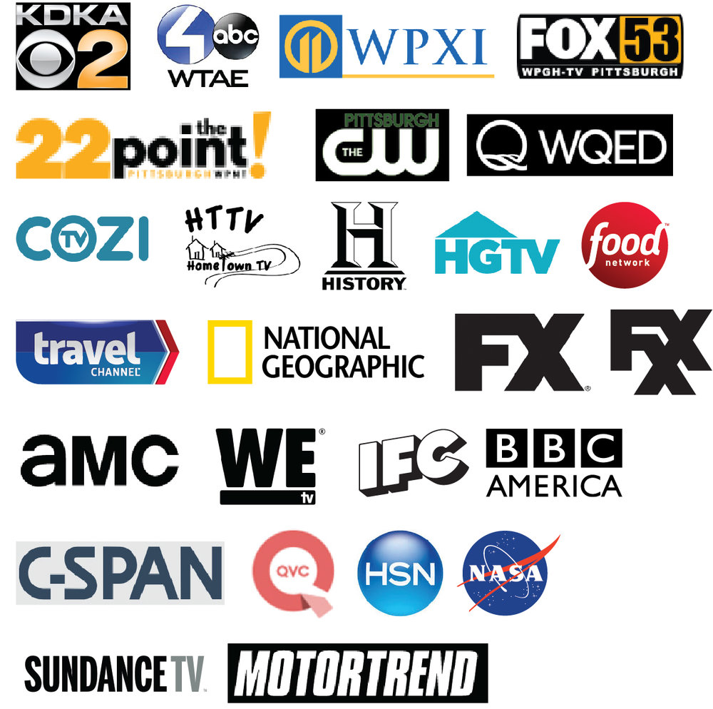 Core Group - (Start with this group, then select at least one other group.)The Core Group contains local channels, plus an assortment of other favorites. Includes the channels shown here, plus more!48 Channels   28 HD Channels$37.99/mo.