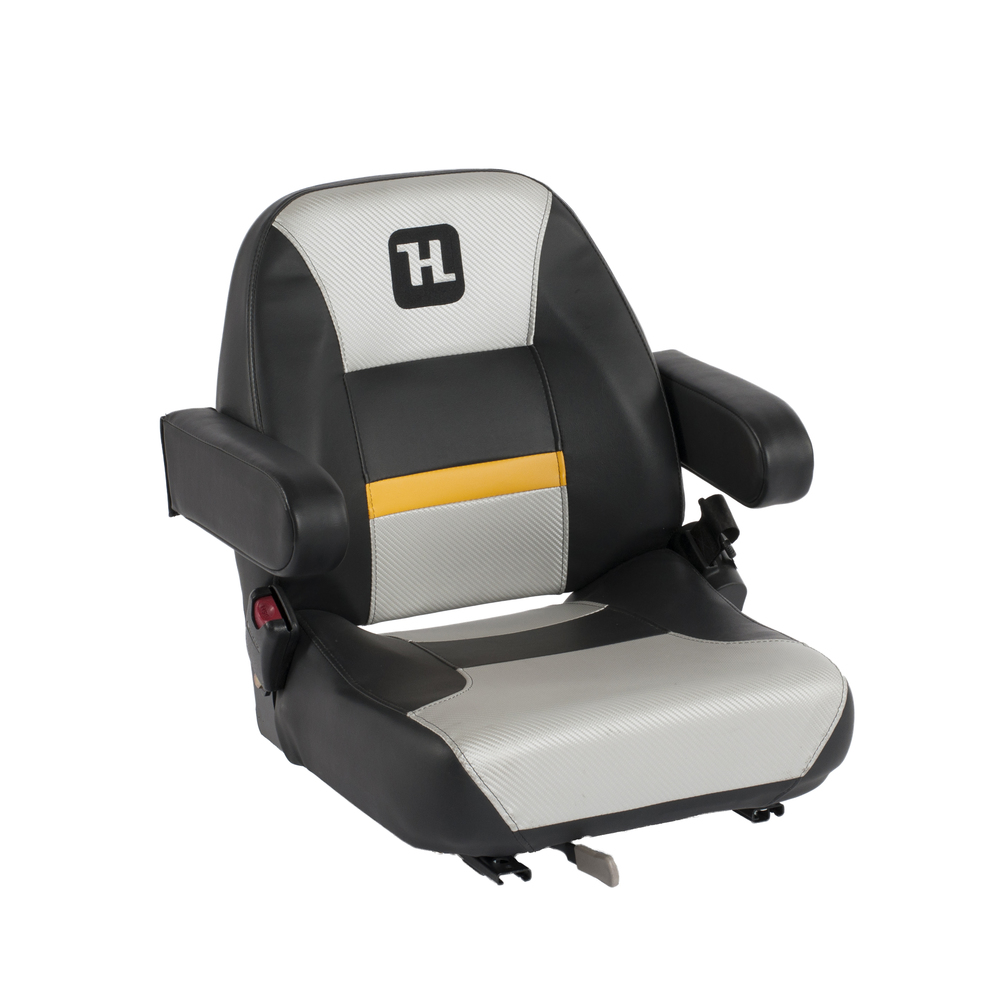 The 400 series seat boasts a slightly wider frame and higher back than its predecessor, offering a higher level of comfort and support.