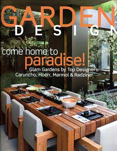 Garden Design  October 2008  Sonoma Vineyard Residence