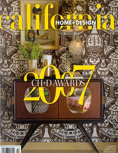 California Home + Design  February 2007  Sonoma Vineyard Residence