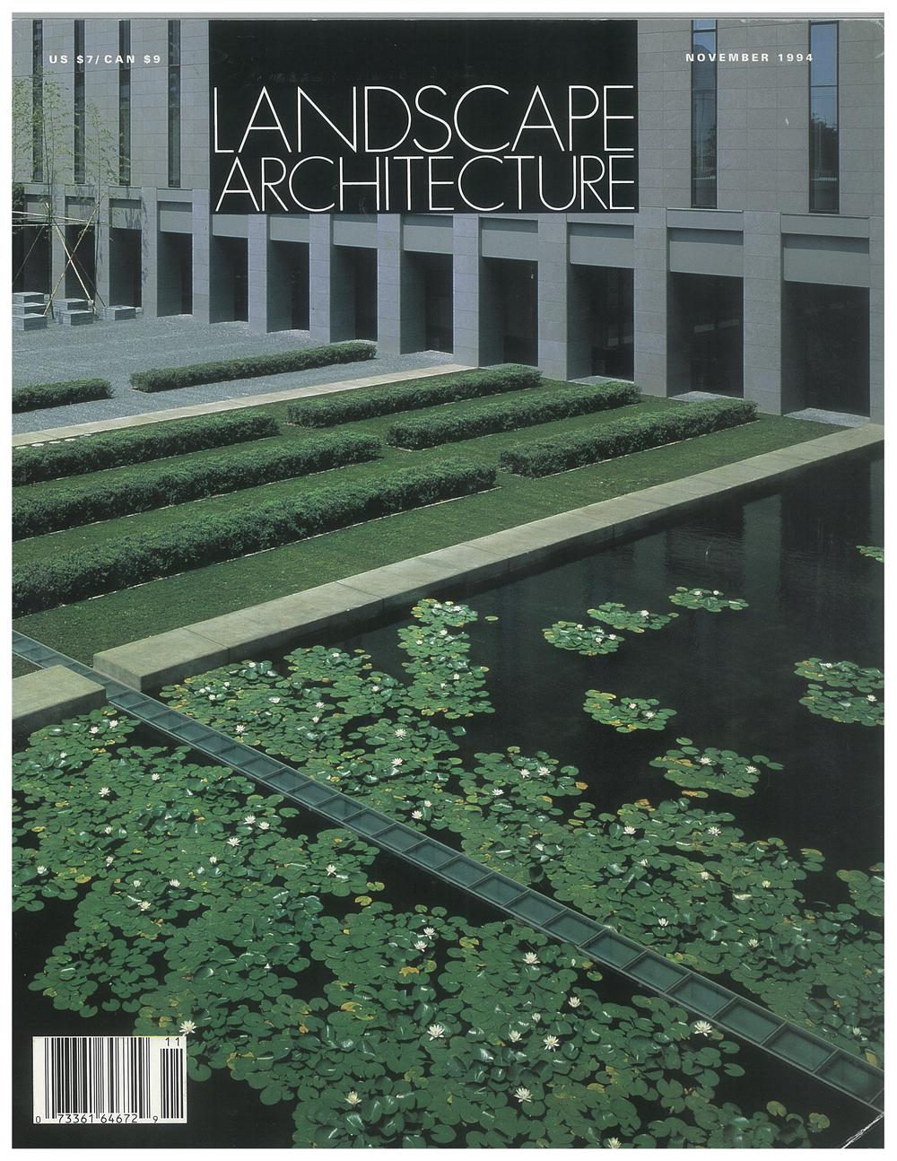 Landscape Architecture  November 1994  IBM Japan Makuhari
