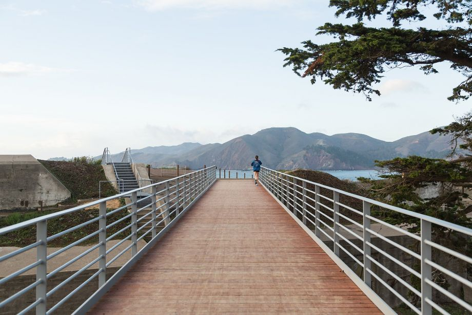New Presidio Footbridge Fits in with its Famous Neighbor by John King San Francisco Chronicle January 5, 2016