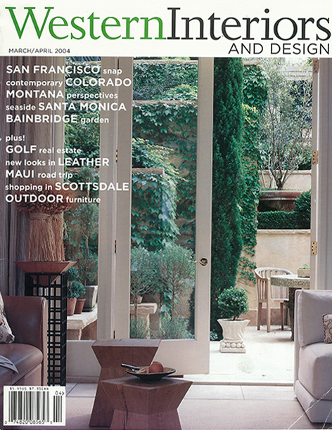 Western Interiors and Design March/April 2004 Pacific Heights Residence