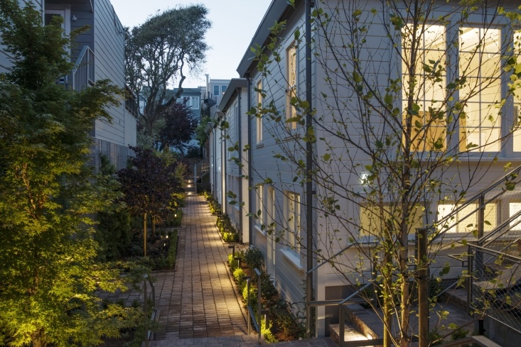 On the Market: The Historic Filbert Cottages in San Francisco's Russian Hill by Meredith Swinehart Remodelista July 22, 2017