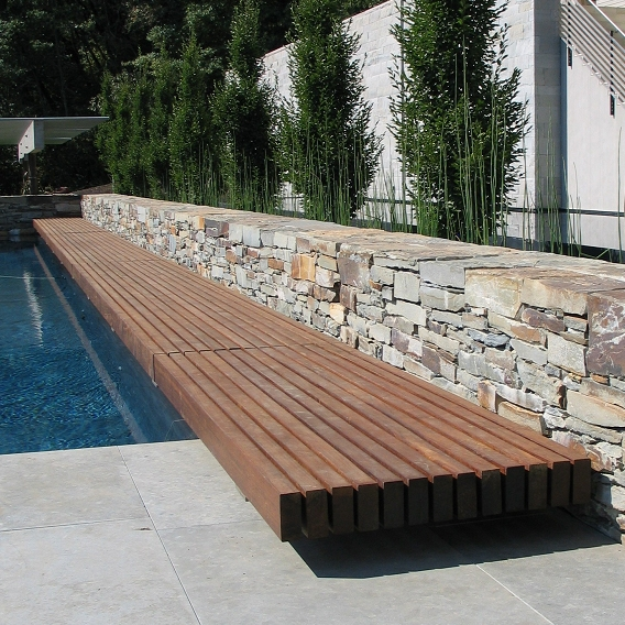 Sonoma Vineyard |  Pool Bench