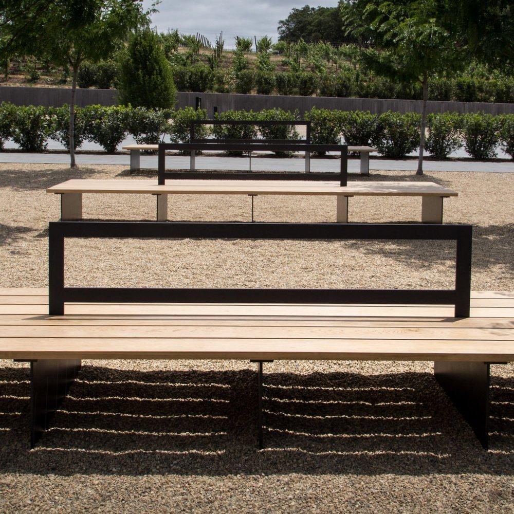 Silver Oak Winery |  Feature Bench