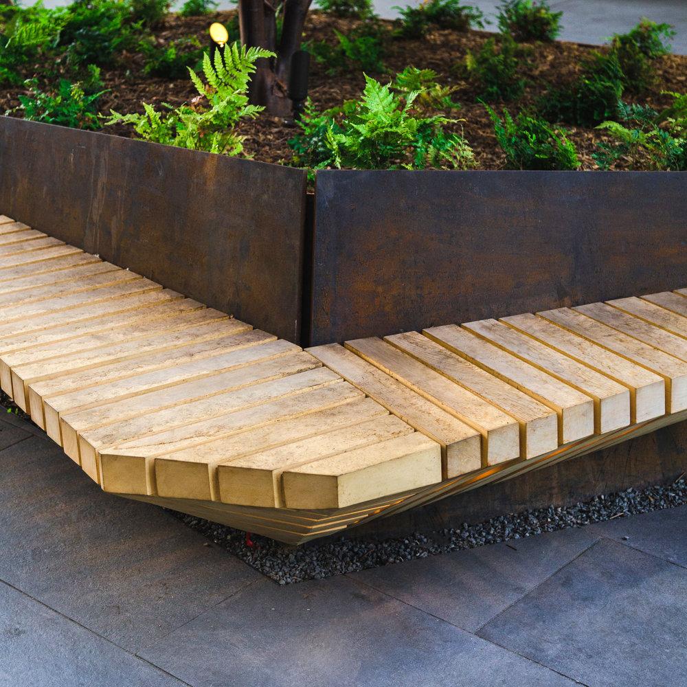 505 Brannan (Pinterest HQ)  | Planter Bench