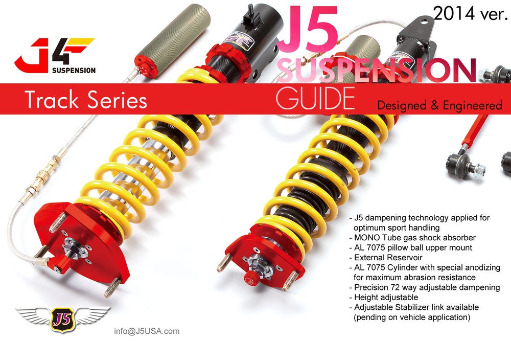 J5 suspension Type-J4 track series