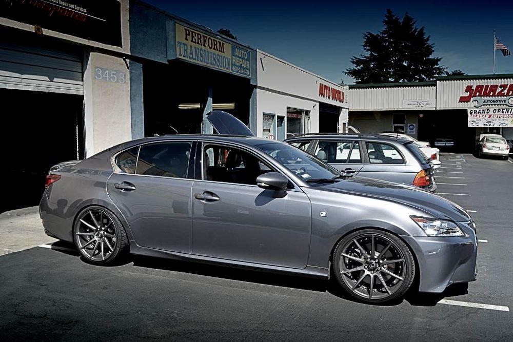 gs lexus f sedan sport fsport review