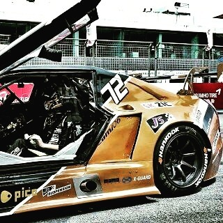 #trackday #cadillac #modified #widebody #aftermarket #korea #j5suspension #custom #rnd #mechanic #sponsored