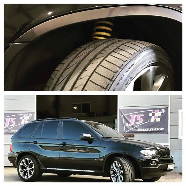 #bmw #bmwx5 #x5 #upgrade #ride #suspension #coilover #safety #aftermarket #j5suspension #madeinkorea
