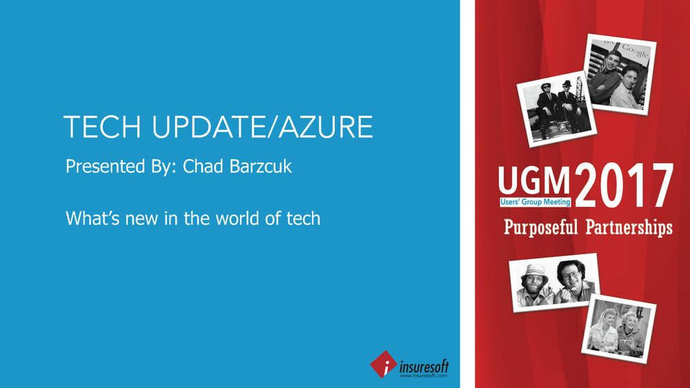 Tech Update: Azure