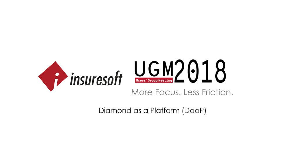 Diamond as a Platform