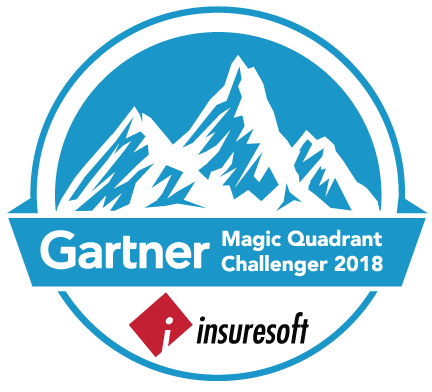 Insuresoft was recognized as a Challenger in Gartner's 2018 Magic Quadrant for P&C Core Platforms. - Insuresoft was positioned the highest for ability to execute in the Challenger quadrant.
