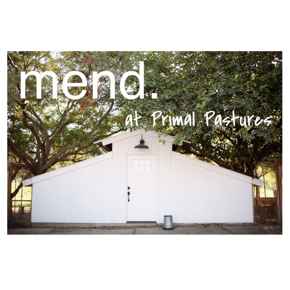 mend. at Primal Pastures