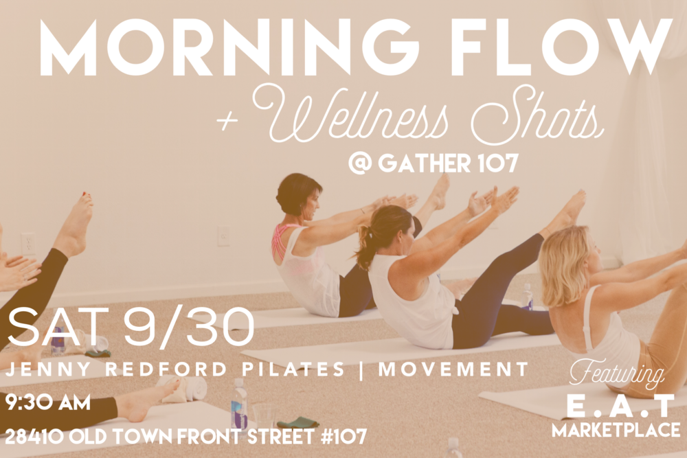 mat flow class //  jenny redford pilates
