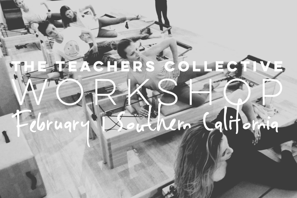 The Teachers Collective Workshop | February 10 + 11