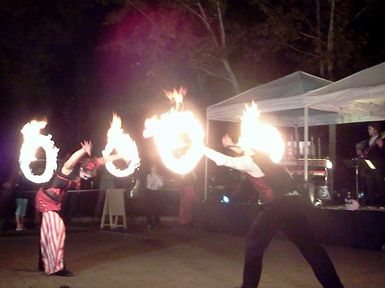 Day of The Dead Celebration, Sedona, 2014. Fire Dancers!
