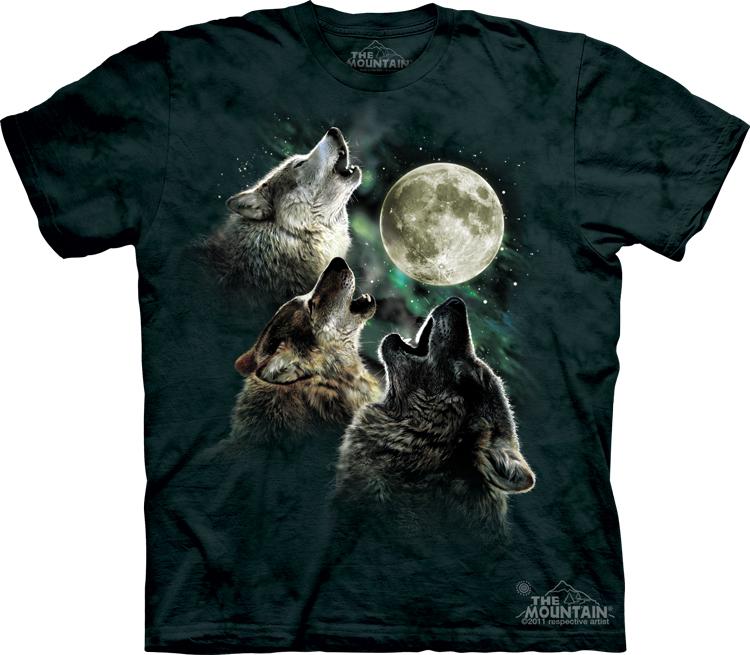 Three_Wolf_Moon_3_Wolves_Magic_Funny_Shirt_T-shirt_famous_Sedona