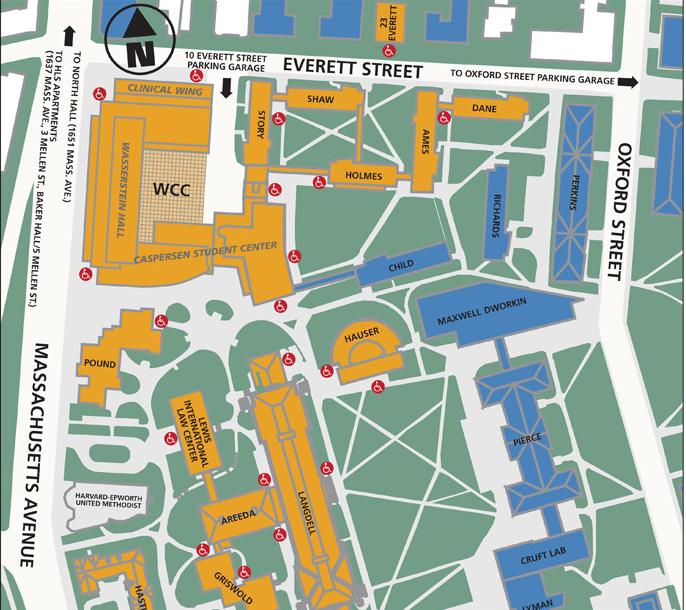 harvard university campus map pdf