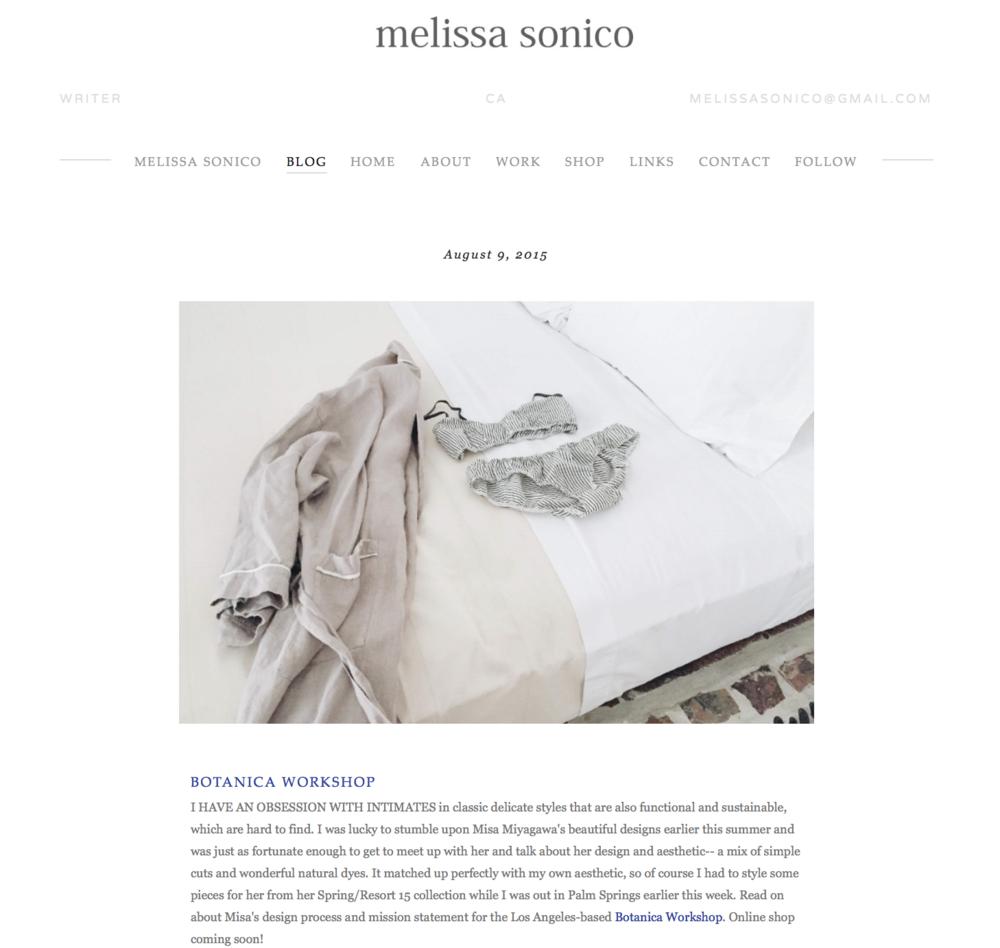 Melissa Sonico