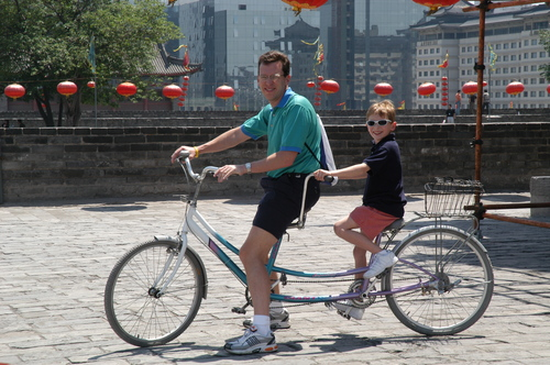A City Wall Bike Ride