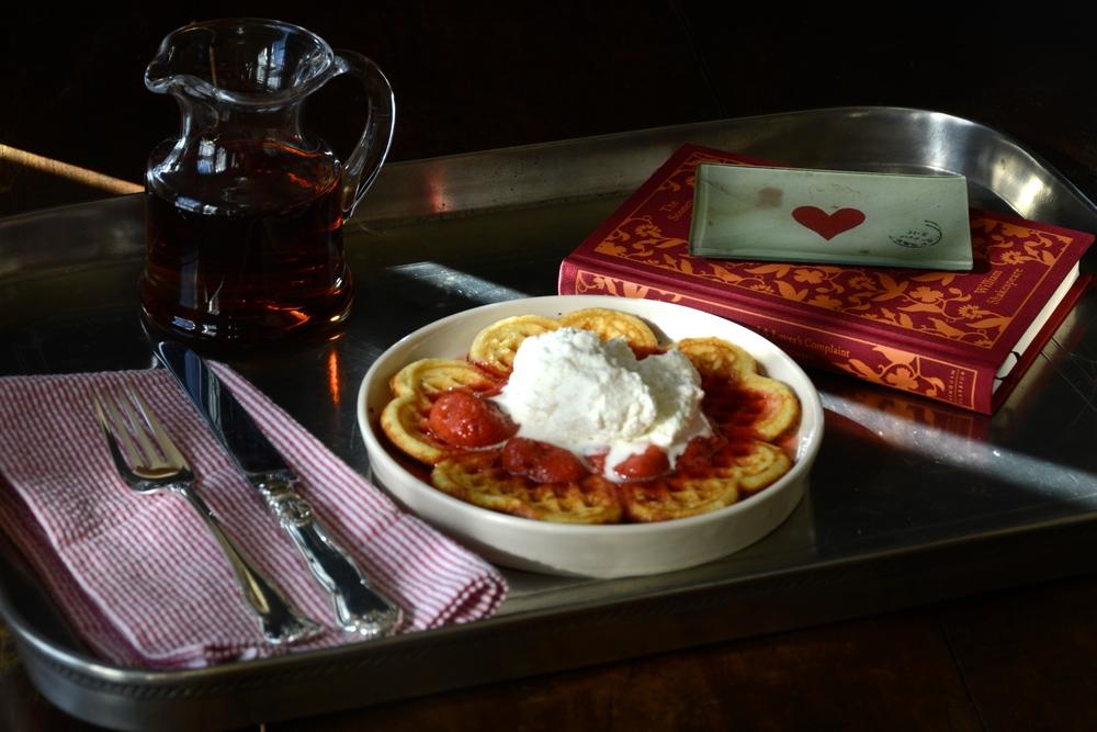 Indulgent Butter Rich Waffles