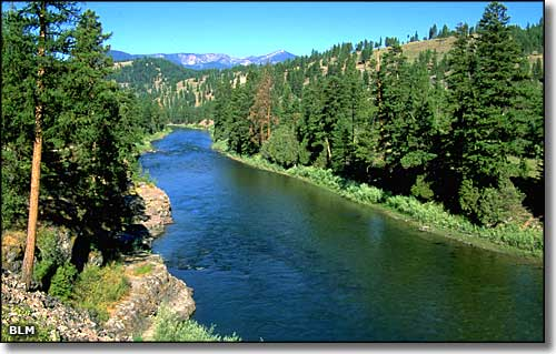 Floating on the Clark Fork River Missoula