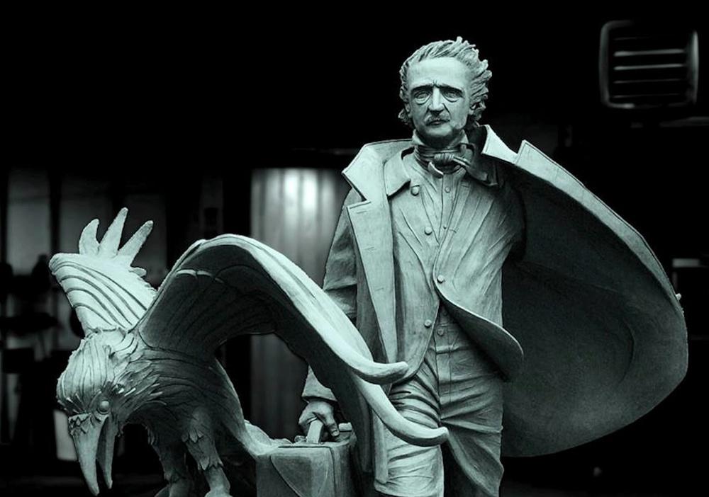 Edgar Allen Poe Statue