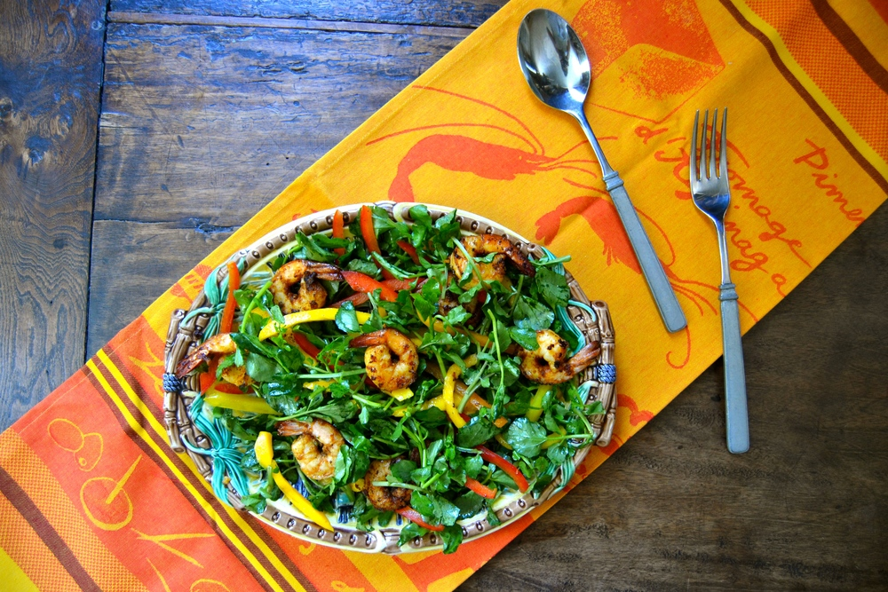 Tandoori Shrimp & Mango Salad