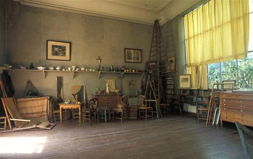 Atelier Cezanne's Studio
