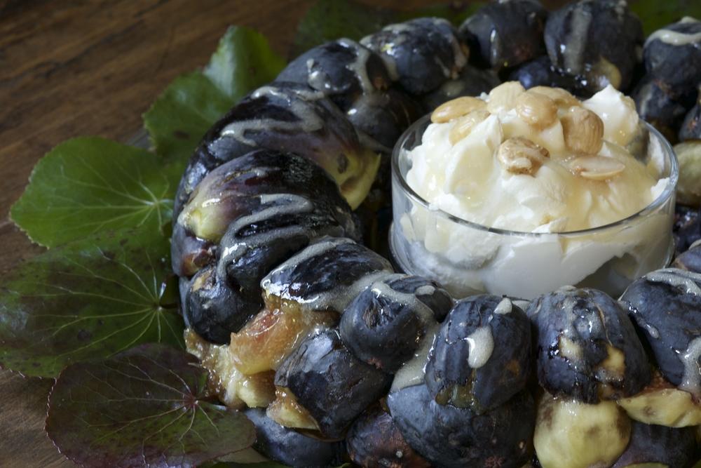 Fig, Honey & Mascarpone Ring
