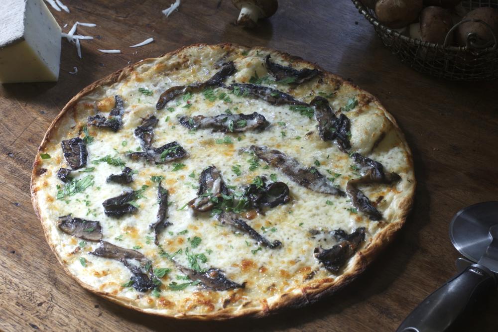 Truffle Cheese & Portabella Mushroom Pizza