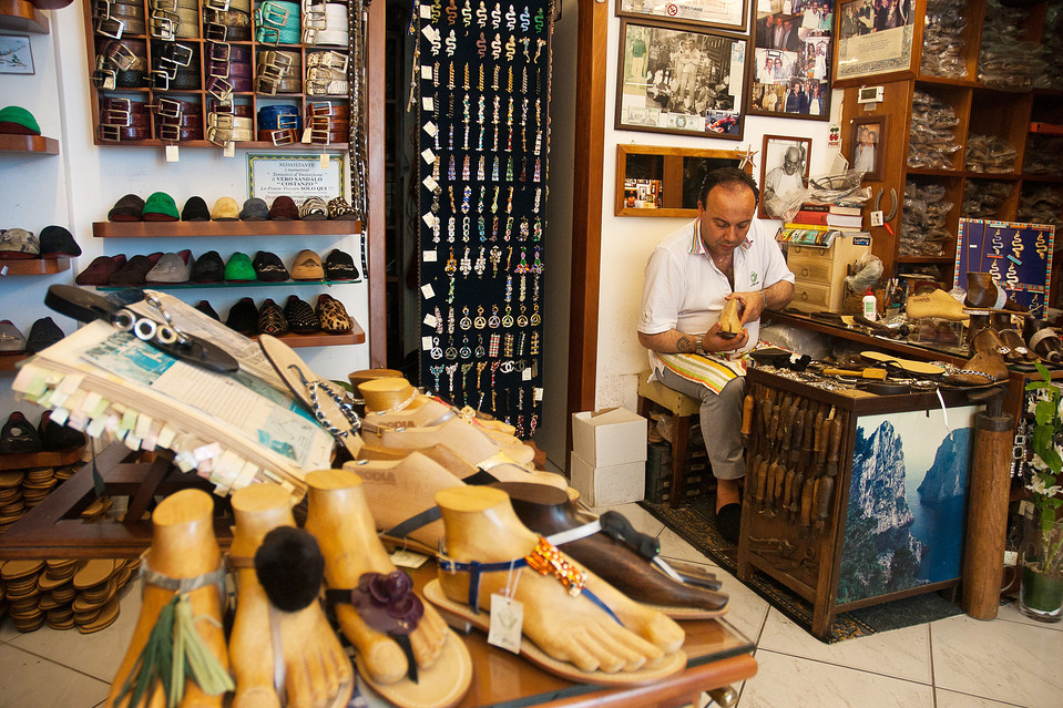 Custom Made Shoes at Da Costanzo