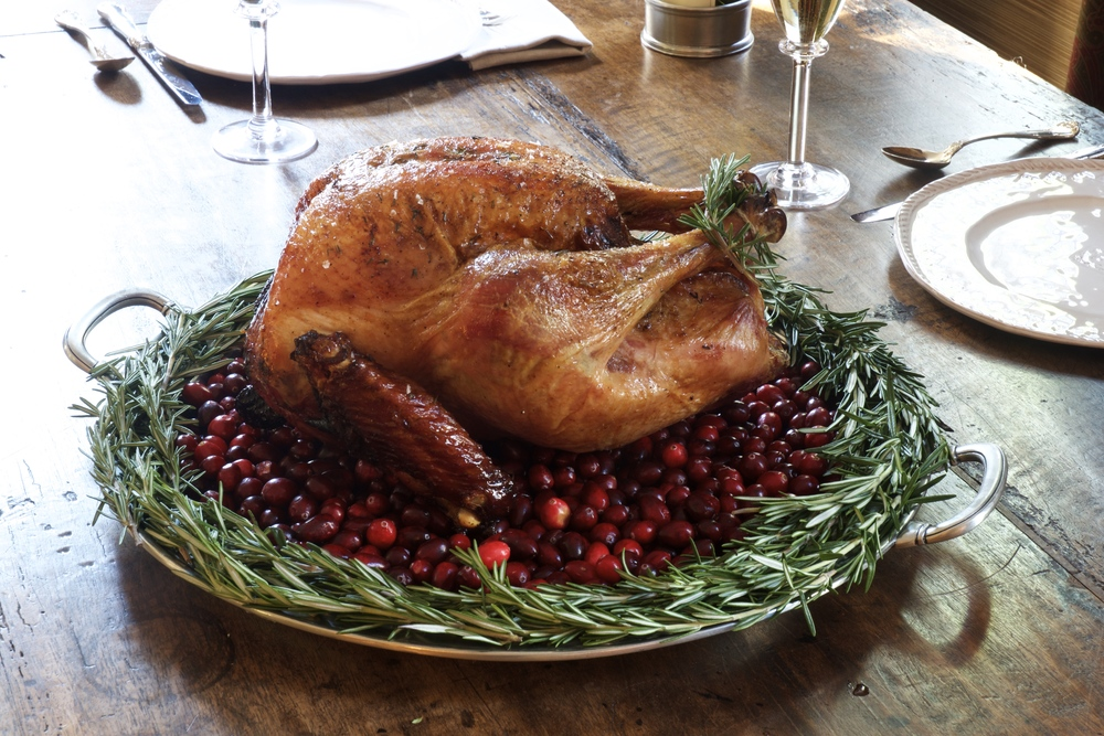 Maple Brined Turkey with Thyme