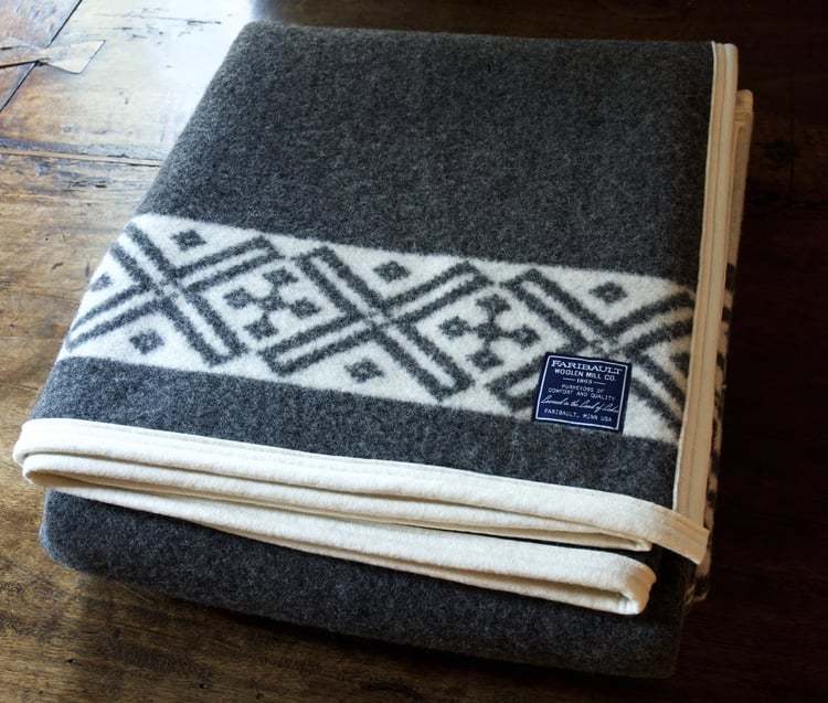 Faribault Tofte Fair Isle Wool Blanket — Weston Table