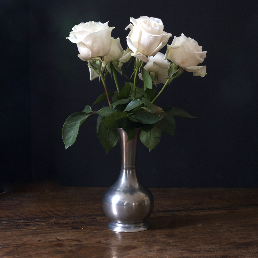Match Pewter Vase