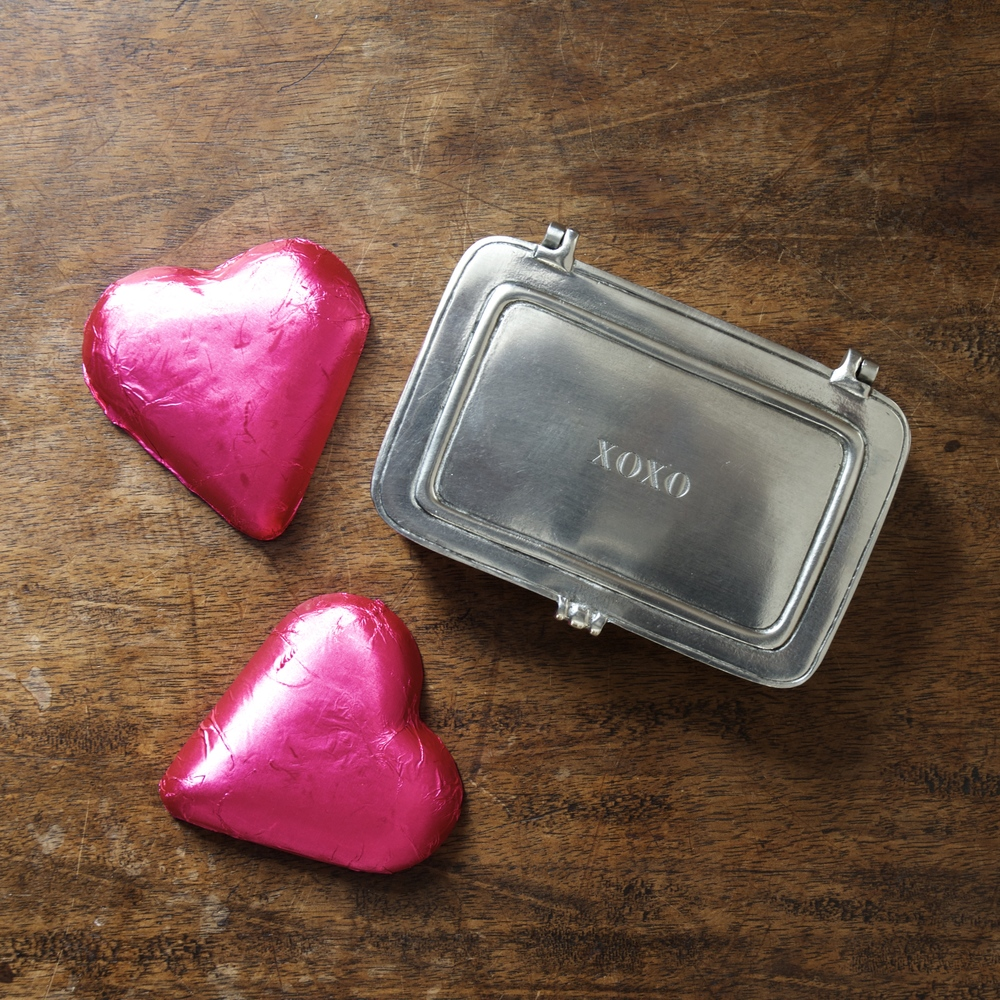 Match Pewter XOXO Box