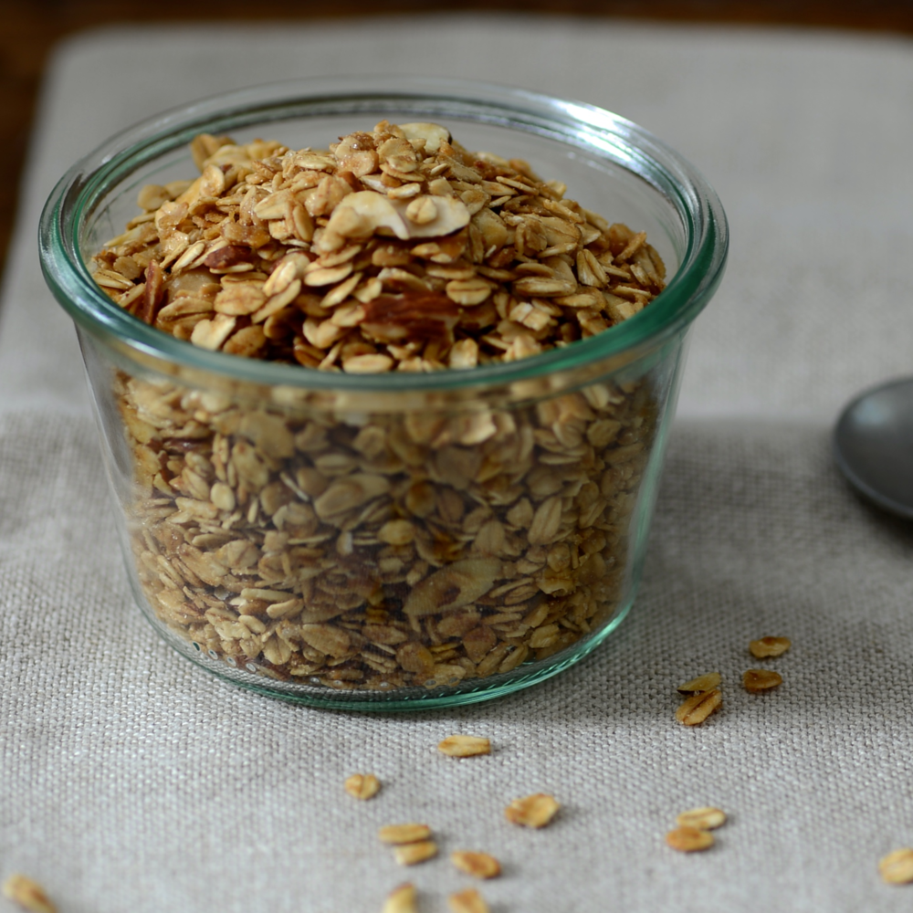 Vanilla Granola with Honey & Almonds