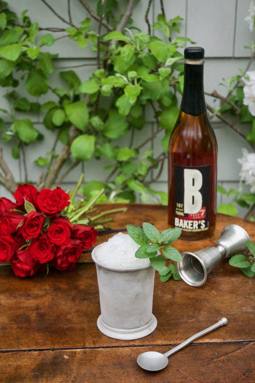 Baker's Bourbon Mint Julep