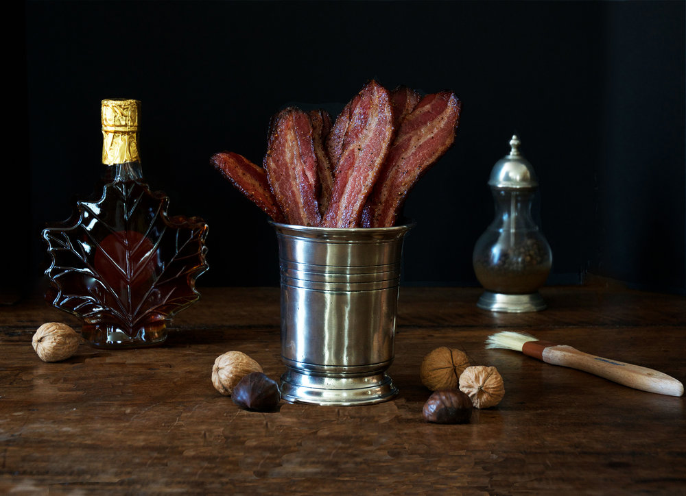 Maple Candied Black Pepper Bacon
