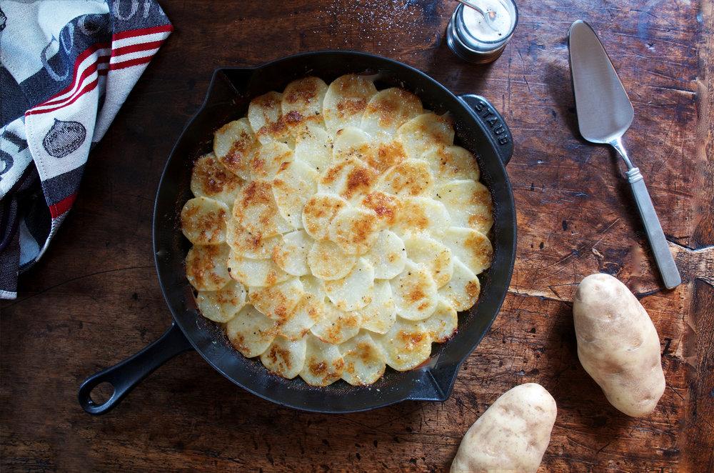 Truffle Potato Gratin