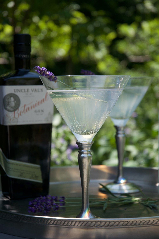- Lavender Martini