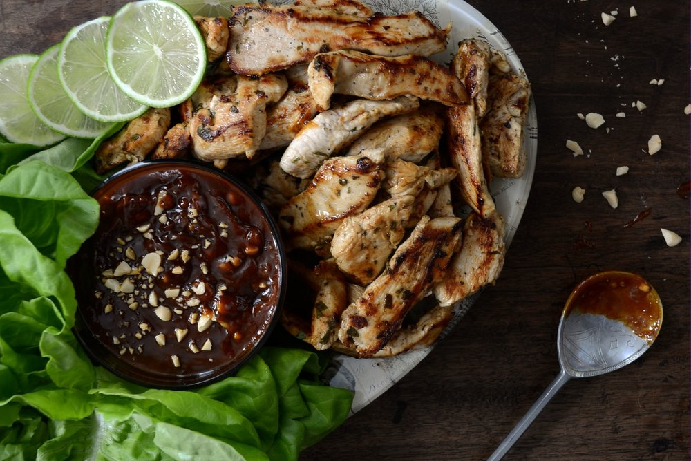 CILANTRO_LIME_GRILLED_CHICKEN_WITH_PEANUT_SAUCE_&_COCONUT_RICE_WESTON_TABLE.JPG