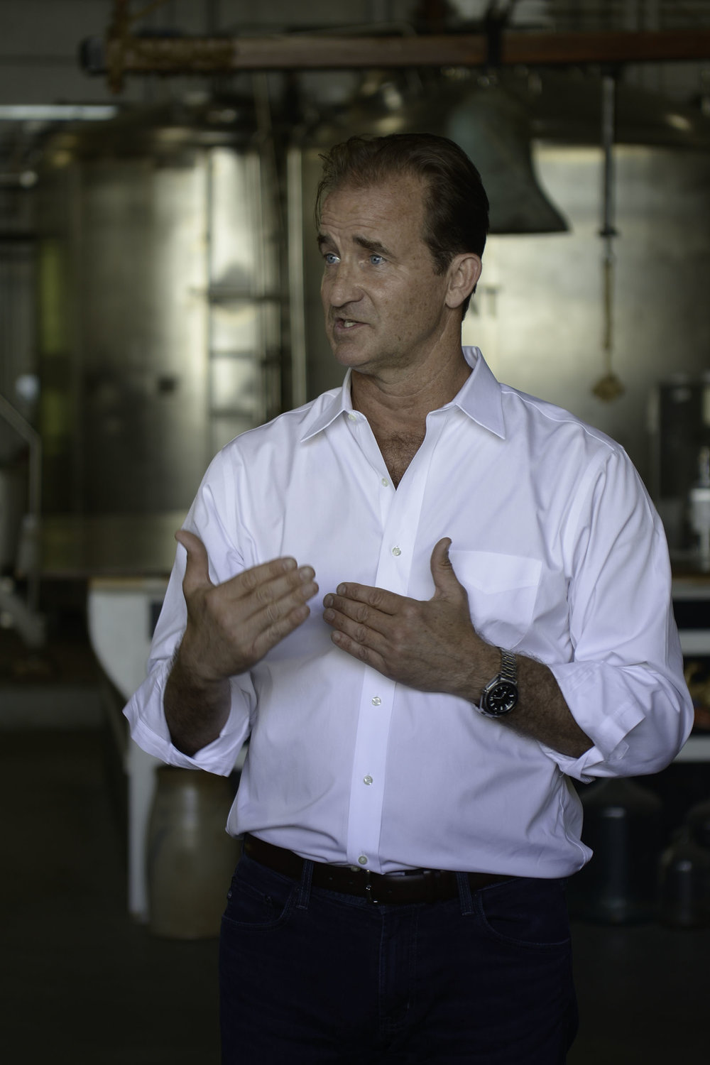 Meet Andrew Cabot - A natural born story teller, dreamer, and deep thinker, Andrew Cabot is the founder and CEO of the Privateer Rum Distillery. With vision and strategy, Andrew has conquered the craft spirits world and is responsible for the production of some of the world's finest rum.