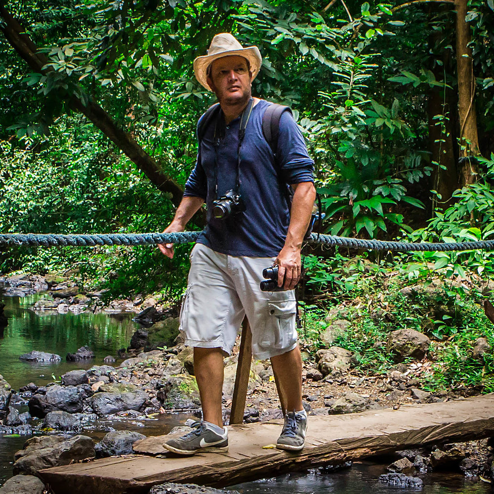MEET ERIC GOMEZ - A native Costa Rican, cyclist, nature photo lover, swimmer, runner, and passionate tour guide, Eric is Costa Rica's premier travel. Eric believes that cultural interaction with local people is an integral part of a travel lifestyle.Eric carefully plans and executes every detail of of a Costa Rican adventure, from guided tours of the cloud and rain forests, the smoking Arenal volcano, and whitewater rafting, to zip lining, suspension bridges, hot springs swimming, community service at an orphanage, an eco-farm hands on learning experience, monkey feedings, and the stunning Pacific beaches of Papagayo.Contact:eric@crgreenadventures.com