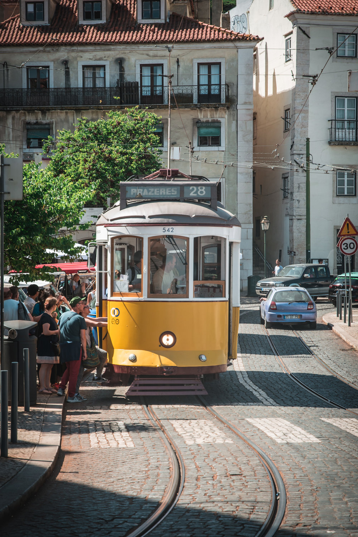 Iconic Lisbon 1930's Tram 28